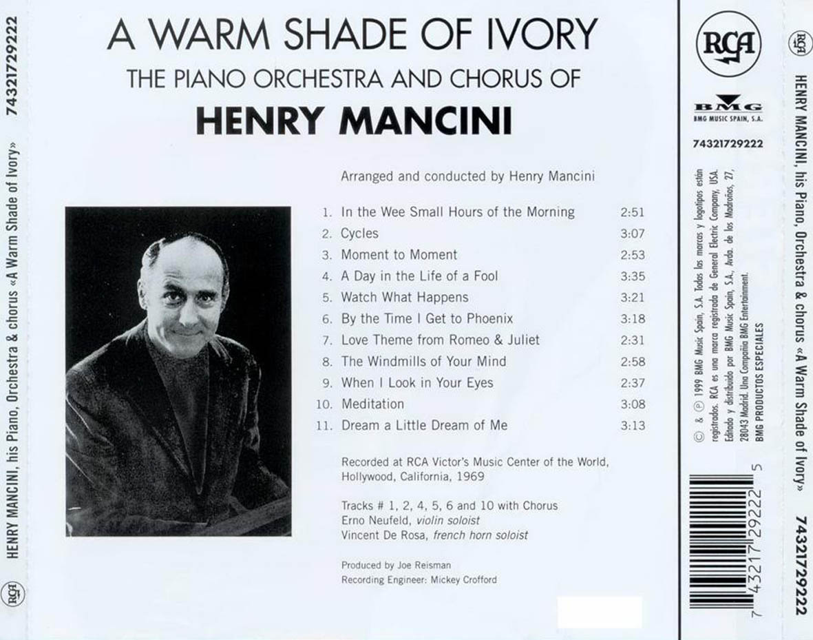 Henry_Mancini-A_Warm_Shade_Of_Ivory-Trasera