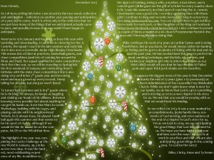 christmas letter 2013 pic 1